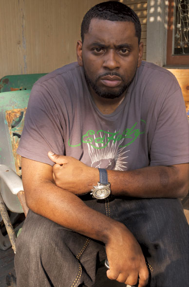 A vigilante shot Donnell Herrington twice shortly after Hurricane Katrina struck New Orleans. [CHANDRA MCCORMICK AND KEITH CALHOUN]