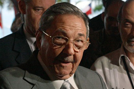 Raul Castro said he was in 'no hurry' to mend US diplomatic relations [AFP]